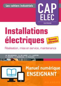 Installations électriques - CAP Electricien (2018) - Manuel numérique enseignant