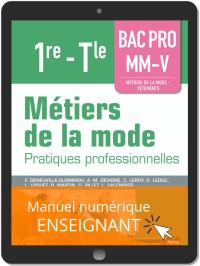Métiers de la mode 1re, Tle Bac Pro MM-V (2019) - Pochette - Manuel numérique enseignant