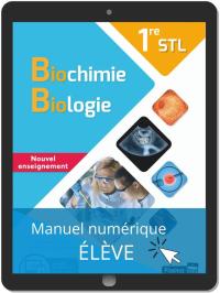 Biochimie, Biologie 1re STL (2020) - Manuel numérique élève