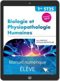 Biologie et physiopathologie humaines 1re ST2S (2019) Pochette - Manuel numérique élève