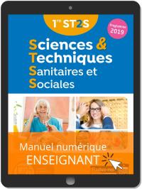 Sciences et Techniques Sanitaires et Sociales 1re ST2S (2019) - Manuel numérique enseignant