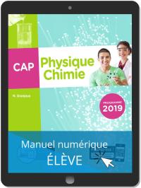 Physique - Chimie CAP (2019) - Pochette - Manuel numérique élève