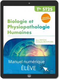Biologie et physiopathologie humaines Tle ST2S (2020) - Pochette - Manuel numérique élève