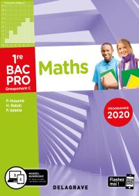 Mathématiques - Groupement C - 1re Bac Pro (2020) - Pochette élève
