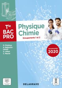 Physique - Chimie Tle Bac Pro G1, G2 (2021) - Pochette élève