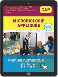 Microbiologie appliquée CAP APH, PSR, ATMFC (2021) - Pochette - Manuel numérique élève