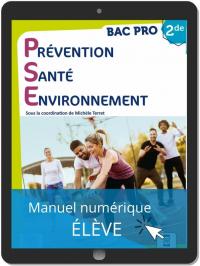 Prévention Santé Environnement (PSE) 2de Bac Pro (2021) - Manuel - Manuel numérique élève