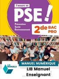 Prévention Santé Environnement (PSE) 2de Bac Pro (2021) - Pochette - Manuel numérique enseignant