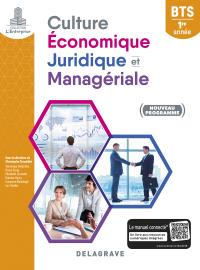 Culture économique, juridique et managériale (CEJM) 1re année BTS SAM, GPME, NDRC (2018) - Pochette élève