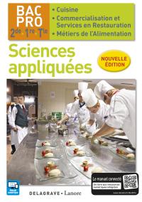 Sciences appliquées 2de, 1re, Tle Bac Pro Cuisine et CSR (2016) - Pochette élève