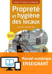 Propreté et hygiène des locaux - Manuel numérique enseignant
