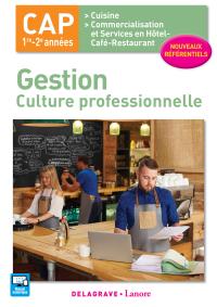 Gestion - culture professionnelle CAP Cuisine et CSHCR (2017) - Pochette élève
