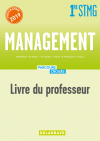 Management 1re STMG (2019) - Manuel Livre du professeur
