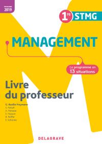 Management 1re STMG (2019) - Pochette - Livre du professeur