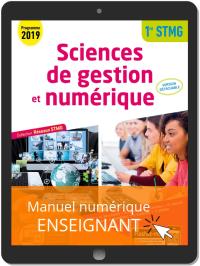 Sciences de gestion et numérique 1re STMG (2019) - Réseaux STMG - Pochette - Manuel numérique enseignant