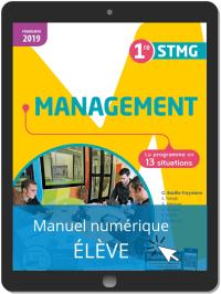 Management 1re STMG (2019) Pochette - Manuel numérique élève