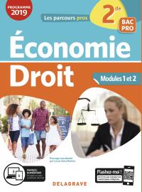 Économie Droit 2de Bac Pro (2019) - Pochette élève