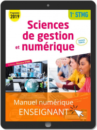 Sciences de gestion et numérique 1re STMG (2019) Manuel - Réseaux STMG - Manuel numérique enseignant