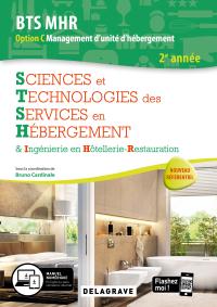 Sciences et Technologies des services en hébergement 2e année BTS MHR (2020) - Pochette élève