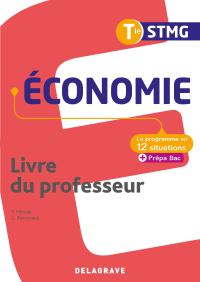 Économie Tle STMG (2020) - Pochette - Livre du professeur
