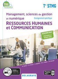 Management, Sciences de gestion et numérique - Ressources Humaines et communication enseignement spécifique Tle STMG (2020) - Pochette élève