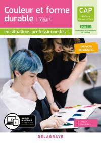 Couleur et forme durable - Pôle 1 T1 - CAP Métiers de la coiffure (2020) - Pochette élève
