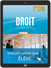 Droit Tle STMG (2020) - Manuel - Manuel numérique élève
