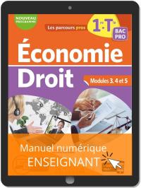 Économie-Droit 1re, Tle Bac Pro (2020) - Manuel numérique enseignant