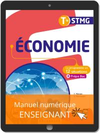 Économie Tle STMG (2020) Pochette - Manuel numérique enseignant