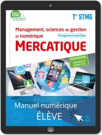 Management, sciences de gestion et numérique - Mercatique enseignement spécifique Tle STMG (2020) Pochette - Manuel numérique élève