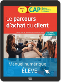 Le parcours d'achat du client 1re et 2e années CAP commerciaux (2020) - Manuel numérique élève