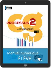 Processus 2 - Contrôle et production de l'information financière BTS Comptabilité Gestion (CG) (2020) - Pochette - Manuel numérique élève