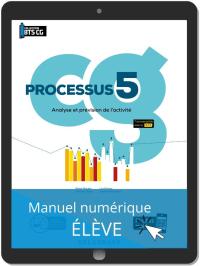 Processus 5 - Analyse et prévision de l'activité BTS Comptabilité Gestion (CG) (2020) - Pochette - Manuel numérique élève