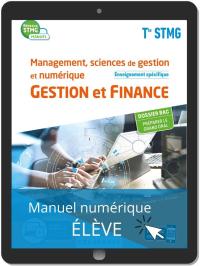 Management, sciences de gestion et numérique - Gestion et Finance enseignement spécifique Tle STMG (2020) Manuel - Manuel numérique élève