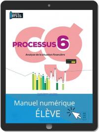 Processus 6 - Analyse de la situation financière BTS Comptabilité Gestion (CG) (2021) - Pochette - Manuel numérique élève