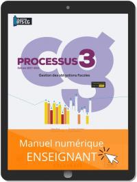 Processus 3 - Gestion des obligations fiscales BTS Comptabilité Gestion (CG) (2021) - Pochette - Manuel numérique enseignant