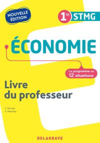 Économie 1re STMG (2021) - Pochette - Livre du professeur