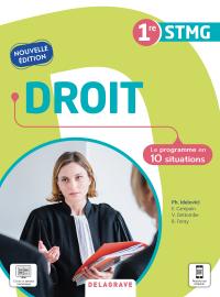 Droit 1re STMG (2021) - Pochette élève