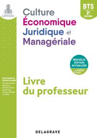 Culture économique, juridique et managériale (CEJM) 2e année BTS (2021) - Pochette - Livre du professeur