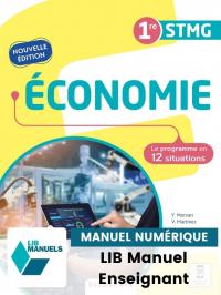 Économie 1re STMG (2021) - Pochette - Manuel numérique enseignant