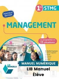 Management 1re STMG (2021) - Pochette - Manuel numérique élève