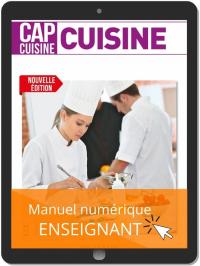 Cuisine 1re et 2e années CAP Cuisine (2021) - Pochette - Manuel numérique enseignant
