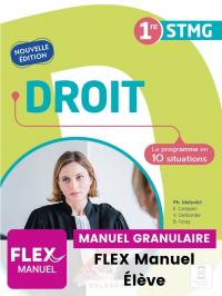 Droit 1re STMG (Ed. num. 2021) - FLEX manuel numérique granulaire élève