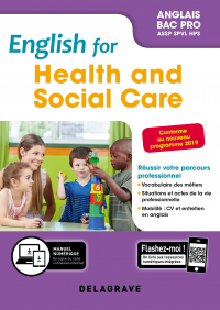 English for Health and Social Care - Anglais Bac Pro (2019) - Pochette élève