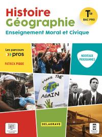 Histoire Géographie EMC Tle Bac Pro (2021) - Pochette élève
