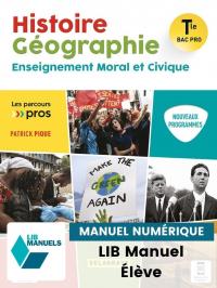 Histoire Géographie EMC Tle Bac Pro (2021) - Pochette - Manuel numérique élève