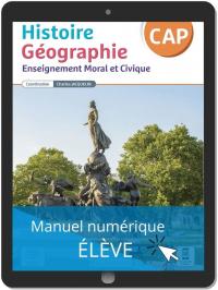 Histoire Géographie EMC CAP (2021) - Pochette - Manuel numérique élève