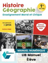 Histoire Géographie EMC 1re Bac Pro (2020) - Manuel numérique élève