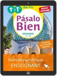 Pásalo Bien Espagnol 1re, Tle Bac Pro (2020) - Pochette - Manuel numérique enseignant