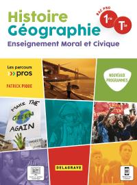 Parcours Pro HG Histoire Géographie EMC 1re, Tle Bac Pro (2021) - Pochette élève